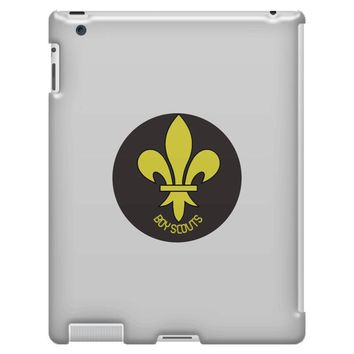 boy scout best iPad 3 and 4 Case