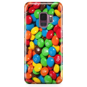 M&M S Candies Fall Samsung Galaxy S9 Plus Case | Casefantasy