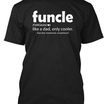 Funcle Definition Funny Gift For Uncle