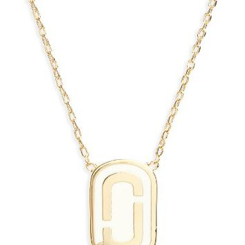 MARC JACOBS Icon Enamel Pendant Necklace | Nordstrom
