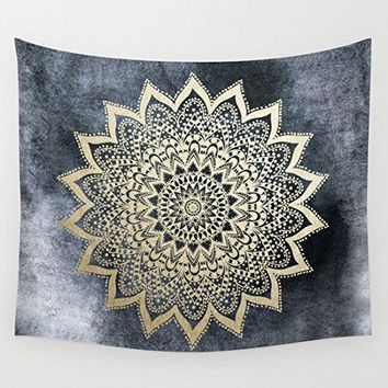 Night Sky Bohemian Mandala Tapestry
