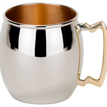 Moscow Mule Mug w/ Polished Nickel, Moscow Mule Mugs