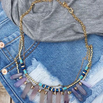 Violet Canyon Necklace