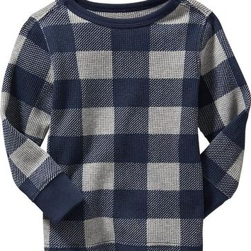 Old Navy Patterned Waffle Knit Tee For Baby