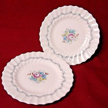 Royal doulton China Dinnerware Chelsea Rose Pattern #4801 Set 4 Bread plate