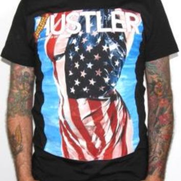Hustler T-Shirt - Flag Cover