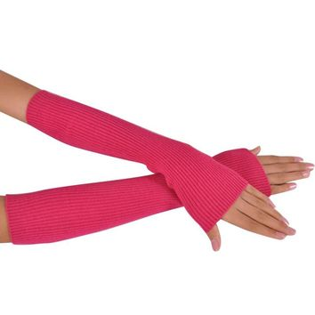 Cashmere Fingerless Gloves, Arm Warmers, Knit Long Gloves, Winter Gloves