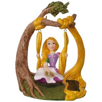 Disney Tangled Rapunzel In the Swing Solar Motion Ornament
