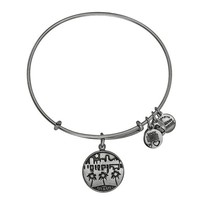 Alex and Ani Miami Charm Bangle - Russian Silver