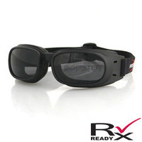 Piston Goggle, Black Frame, Smoked Lens