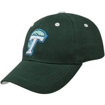 Top of the World Tulane Green Wave Youth Green One-Fit Hat - http://www.shareasale.com/m-pr.cfm?merchantID=7124&userID=1042934&productID=544536746 / Tulane Green Wave