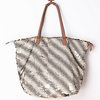 Gilded Paillettes Tote