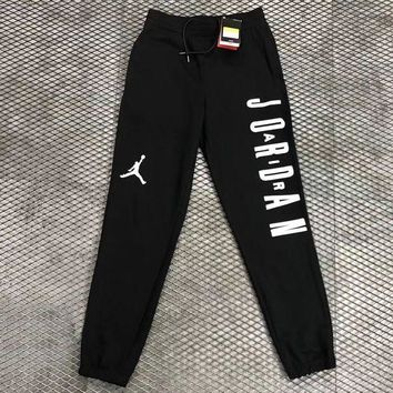 PEAPON Nike Air Jordan Woman Men Fashion Sport Pants Trousers Sweatpants