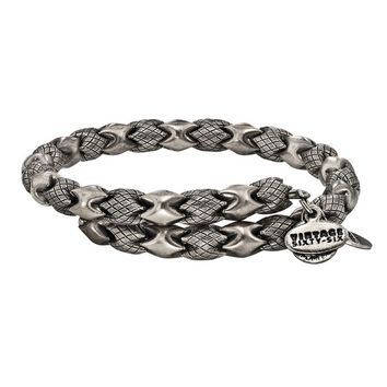 Alex and Ani Medina Wrap - Russian Silver