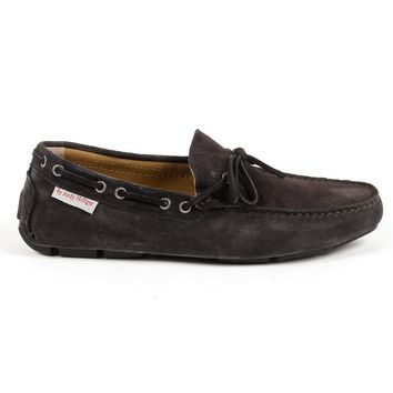 Andrew Charles Mens Loafer Dark Grey Steve