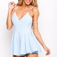 HelloMolly | The Best Day Playsuit Blue