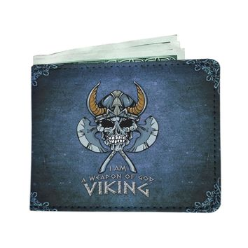 'Viking: I am a Weapon of God' (Norse) Men's Wallet