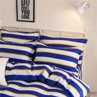 Home Textiles Bedding Sets include Duvet Cover Bed Sheet Pillowcase Queen King Twin Size Comforter Bedding Sets Bed Linen hl
