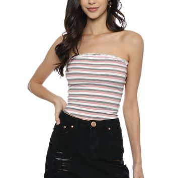 Gab & Kate Striped Tube Top