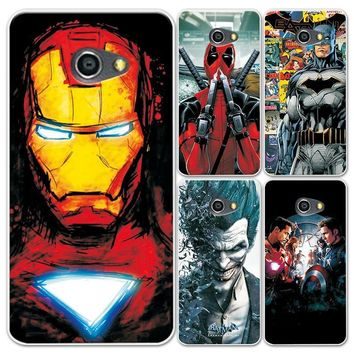 Deadpool Dead pool Taco For LG K5 X220 Case Charming Marvel Spiderman Captain America  Phone Shell For LG K 5 5.0'' Soft Silicon Fundas Capa AT_70_6