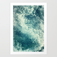 Water I Art Print by Dr. Lukas Brezak