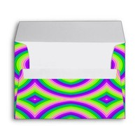 Bold Bright and Colorful Envelope