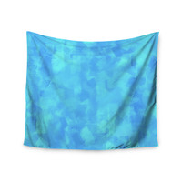 "CarolLynn Tice ""Convenience"" Blue Wall Tapestry"