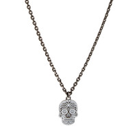 Simon Carter Skull Necklace