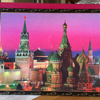 Photo album Moscow Red Square view photo album Russian gift album 200 photo hard cover memorable album holyday gift wedding first album