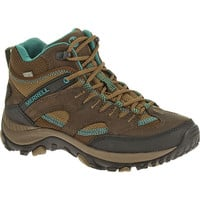 Merrell Women's Salida Mid Waterproof Hiking Boot - Dark Earth - J48320