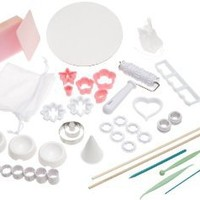 Wilton Gum Paste and Fondant Student Kit- Discontinued By Manufacturer