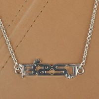 Kpop Accessories Titanium Necklace Beast