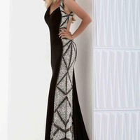 Sexy Black Jasz Couture Dress 5646