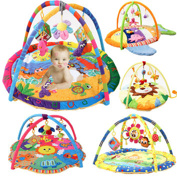 New Arrival Soft Baby Play Mat Baby Music Playmate  Educational Toys