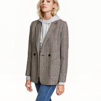 H&M Double-breasted Jacket $29.99