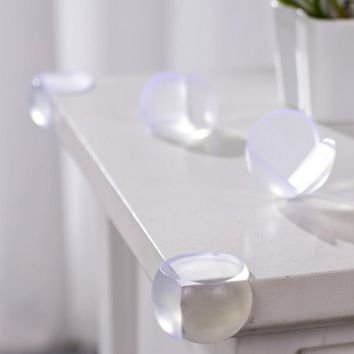 1Pcs Clear Table Desk Corner Edge Guard Cushion Baby Safety Bumper Protector