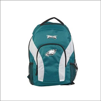 """Eagles OFFICIAL National Football League, """"""""Draft Day"""""""" 18""""""""H x 10"""""""" (12"""""""" Back) Backpack  by The Northwest Company"""