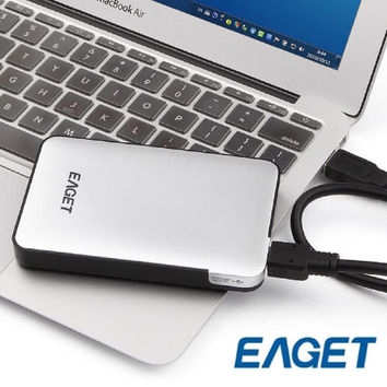 EAGET G30 HDD USB3.0 500GB 1TB 2TB 3TB Super Speed Hard Disk Drive Electronics Storage Device