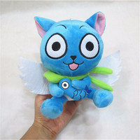 Fairy Tail Blue Happy Cat 18cm/7""