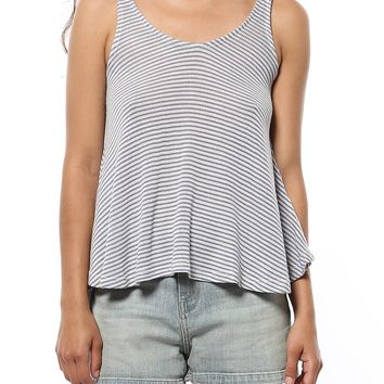 Shake it off Striped Tank