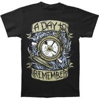 A Day To Remember Stop Watch T-shirt Medium