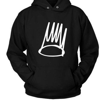 ESBP7V Rap J Cole Logo Hoodie Two Sided