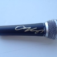 Say Something AUSTIN MAHONE Signed Autographed Microphone COA