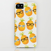 Pineapple Party! iPhone & iPod Case by Zeke Tucker