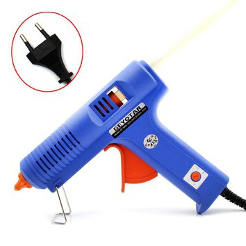 150W EU Plug Hot Melt Glue Gun with Free 1pc 11mm Stick Heat Temperature Tool Industrial Guns Thermo Gluegun Repair Heat tools