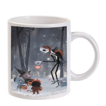 Gift Mugs | Santa Jack Skellington Ceramic Coffee Mugs