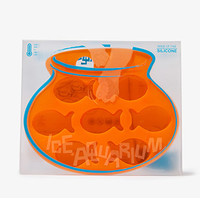 FOREVER 21 Fish Aquarium Ice Tray Orange One