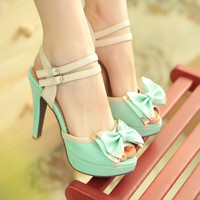 Sexy of fine Bowknot sandals 6778ER