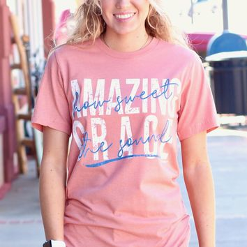 Amazing Grace Tee {Sunset}