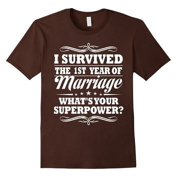 1st Wedding Anniversary Gift Ideas For Her/ Him- I Survived
